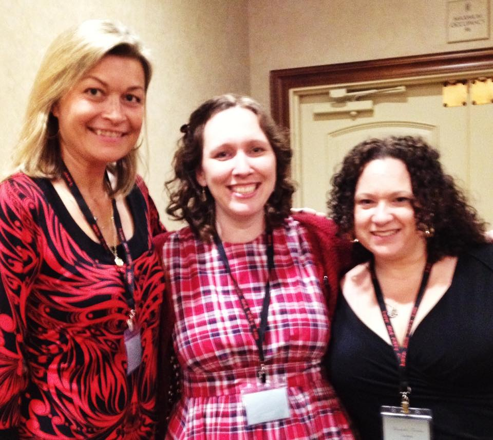 With April White and Penny Reid, hands down, two of the best indie writers out there and awesome people.